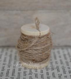 Mini klosje met jute touw