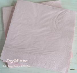 Servetten roze