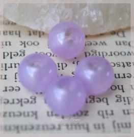 Kralen glas, lila/paars