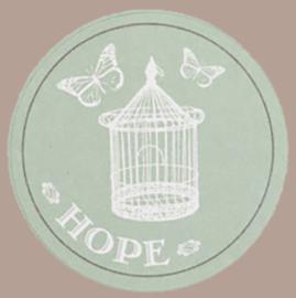 Sticker hope