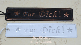 Label zink Fur Dich