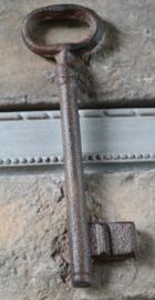 Sleutel gietijzer bruin