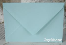 Envelop lichtmint C6