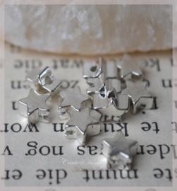 Kralen metaal, zilver