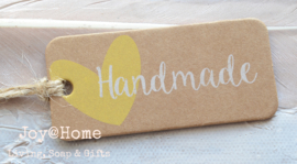 Kraft label Handmade