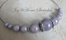 Ketting, miracle beads in 4 kleuren