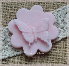 Zeepjes bloem vlinder. Per 5