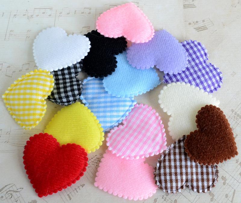 Linnen zakje met hartje in vele kleuren