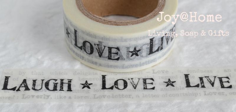 Masking tape Laugh Love Live