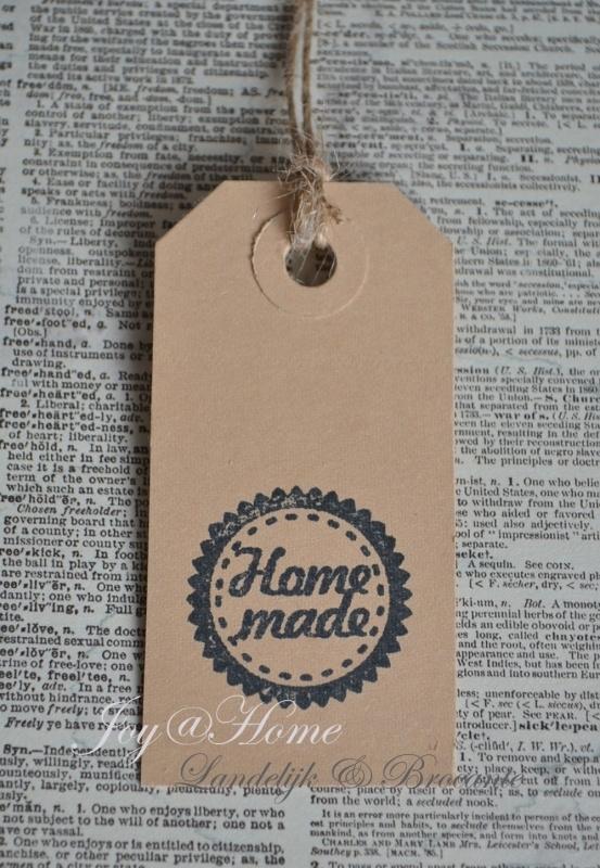 Label Homemade in 7 kleuren