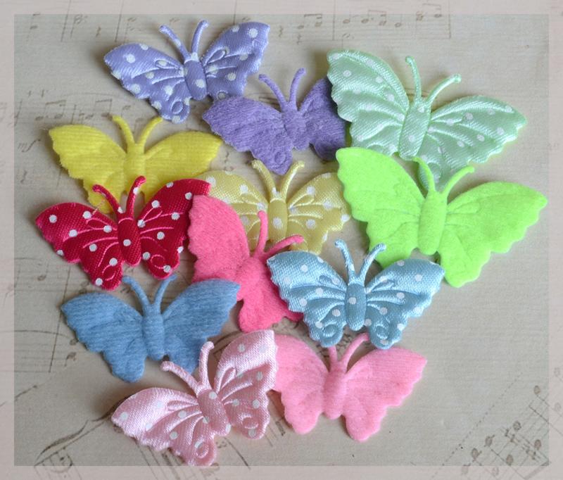 Zakje met vlindertje in vele combinaties