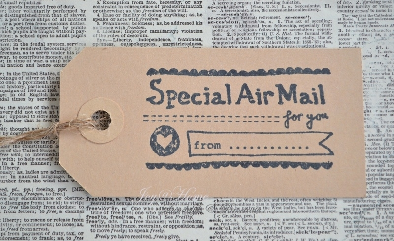 Label Special Air mail in 7 kleuren