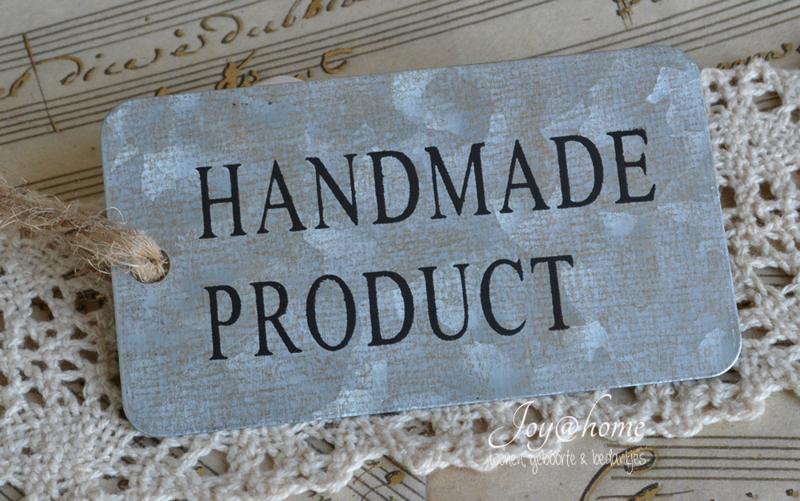 Zinken label Handmade product