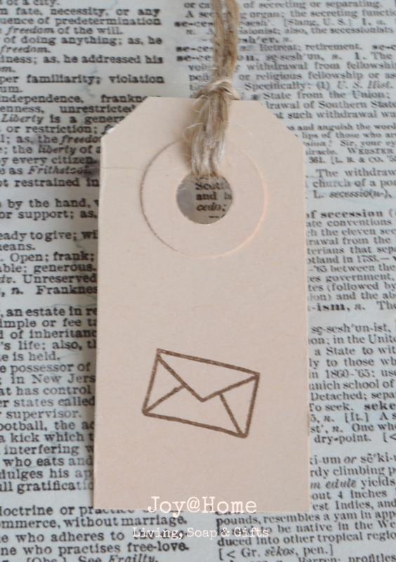Label envelopje in 7 kleuren