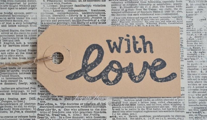 Label With Love in 7 kleuren