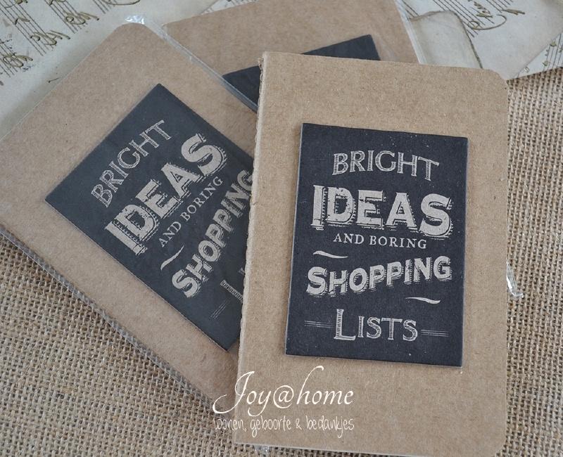 Kraft note book Bright ideas...