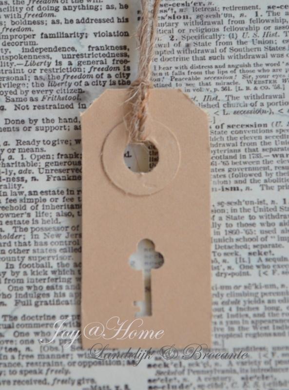 Label sleuteltje