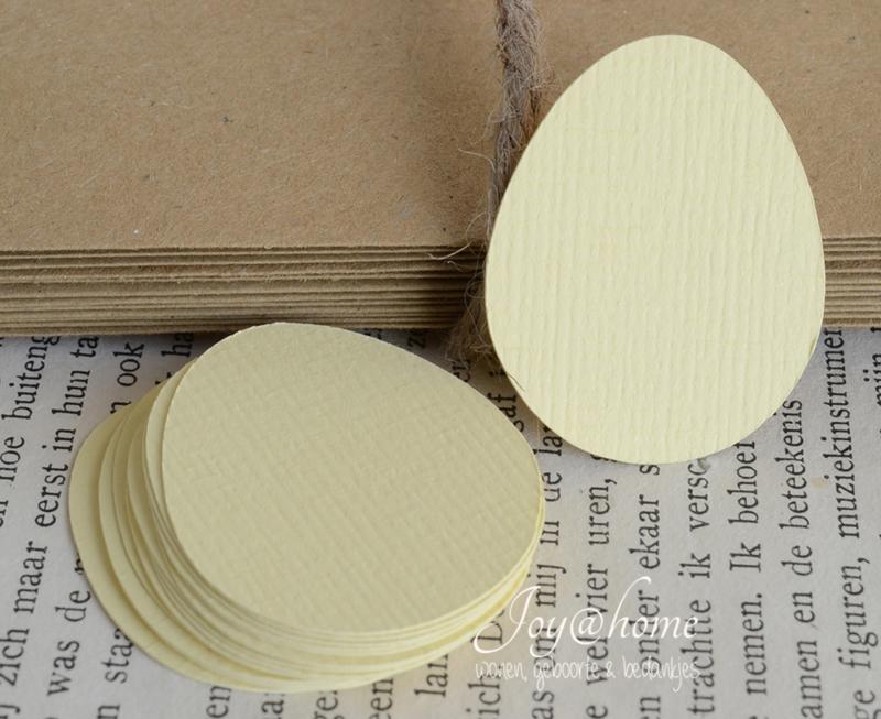 Label ei in vele kleurtjes & afm. met of zonder touwtje & tekst