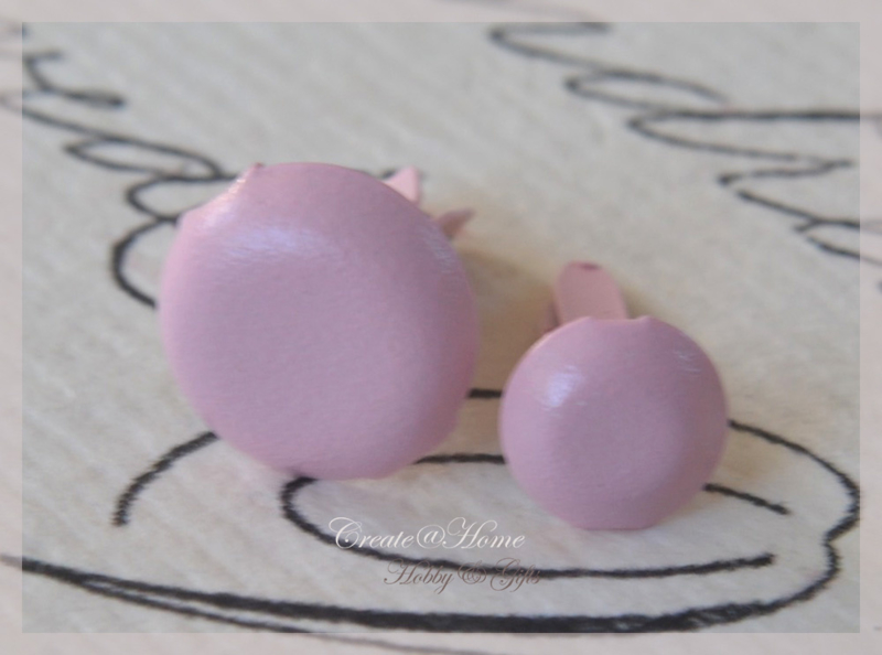 Splitpen, pastel roze
