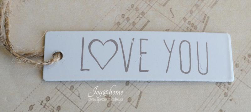 Zinken label Love you