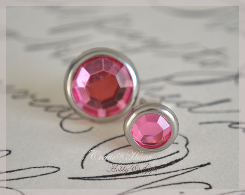 Splitpen strass, roze