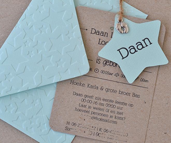 geboortekaartje,labels,ster,mint,envelopje.jpg