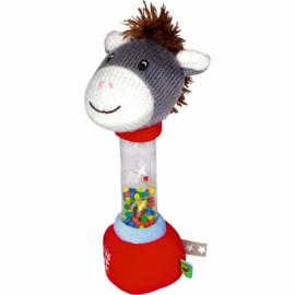"""(Spiegelburg) """"Babygeluk"""" Rammelaar ezel 'Mijn ezeltje'"""