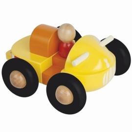 "(Janod) Houten auto magneetset ""Quad"""
