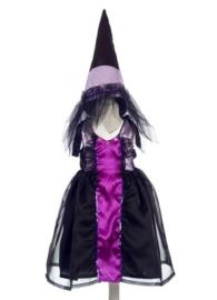 "AANBIEDING (Souza for Kids) Heksen verkleedjurk + hoed ""Whitney"""