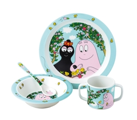 "(Petit Jour Paris) ""Barbapapa"" 4-delige set"