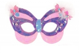 """(Souza for Kids) Masker vlinder paars """"Venice"""""""