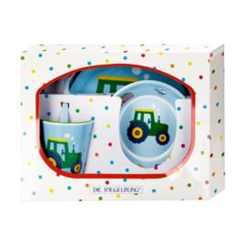 """(Spiegelburg) """"Later als ik groot ben..."""" 4-delige geschenkset 'Traktor'"""