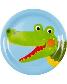 "(Spiegelburg) ""Little Rascals"" Bordje 'Krokodil'"