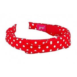 """(Souza for Kids) Haarband rood met witte stippen """"Dots"""""""