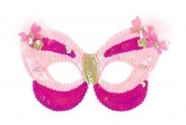 "(Souza for Kids) Masker vlinder roze ""Venice"""
