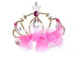 """(Souza for Kids) Roze kroontje met haarband """"Murielle"""""""