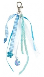 "(Souza for Kids) Sleutelhanger blauw ""Jackie"""