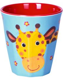 """(Spiegelburg) """"Little Rascals"""" Bekertje 'Giraf'"""