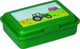 """(Spiegelburg) """"Later als ik groot ben..."""" Broodtrommeltje 'Traktor'"""