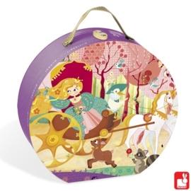 "(Janod) Puzzel ""Prinses & Koets"" 5+"
