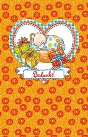 (Pauline Oud) Bedankt - kaarten met enveloppen