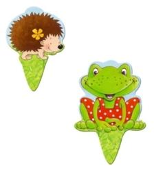"""(Spiegelburg) """"Garden Kids"""" Plantenbordjes met zaadjes"""