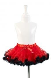 "(Souza for Kids) Thule rokje rood met zwart ""Elvira"""