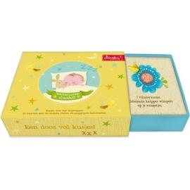 (Dushi) Een doos vol kusjes voor het slapengaan 'opdrachtkaarten'