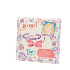 """(Souza for Kids) Maak je eigen haarbanden lila & roze """"Tiara knutselset"""""""