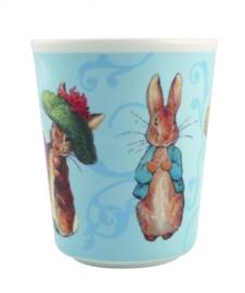 "(Petit Jour Paris) ""Peter Rabbit"" Bekertje blauw"