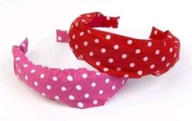 """(Souza for Kids) Haarband roze met witte stippen """"Dots"""""""