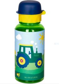 """(Spiegelburg) """"Later als ik groot ben..."""" Drinkfles met tuit 'Traktor'"""