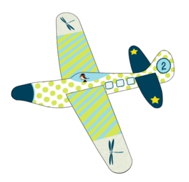 (Spiegelburg) Zweefvliegtuigje foam