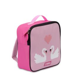 """(Zebra Trends) Rugtas roze """"Duo Zwaan Pink"""""""